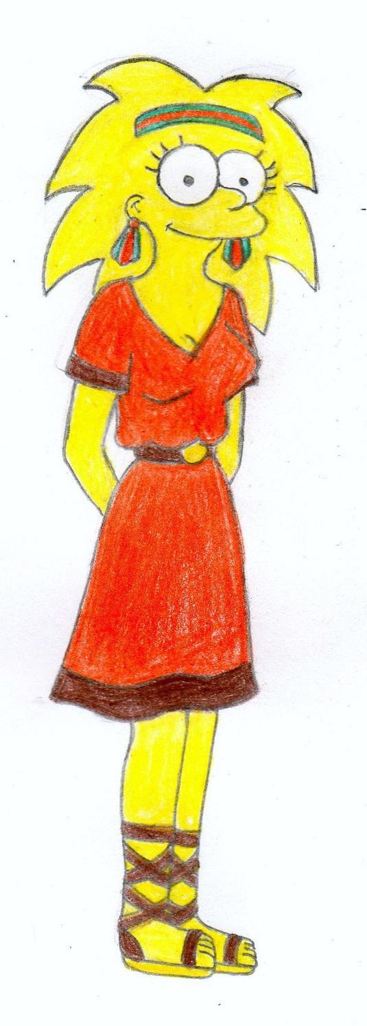 Older Lisa Simpson by Beaver-Wizard