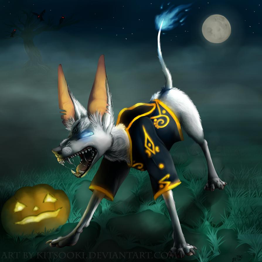 Halloween Scare by Kitsooki