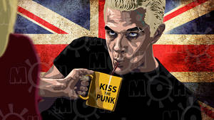 buffy vampire slayer Spike quote kiss the punk3
