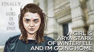 Game Of Thrones Arya Valar Morghoulis 6