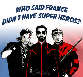French Super Heros