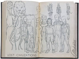 Preparatory Sketch MU Lost Civilization 1