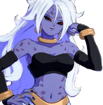 DBFZ - Android 21 (Evil) Victory Render