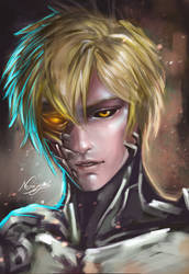 One Punch Man: Genos by NanNemoSyne
