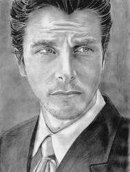 Christian Bale by Cyb007