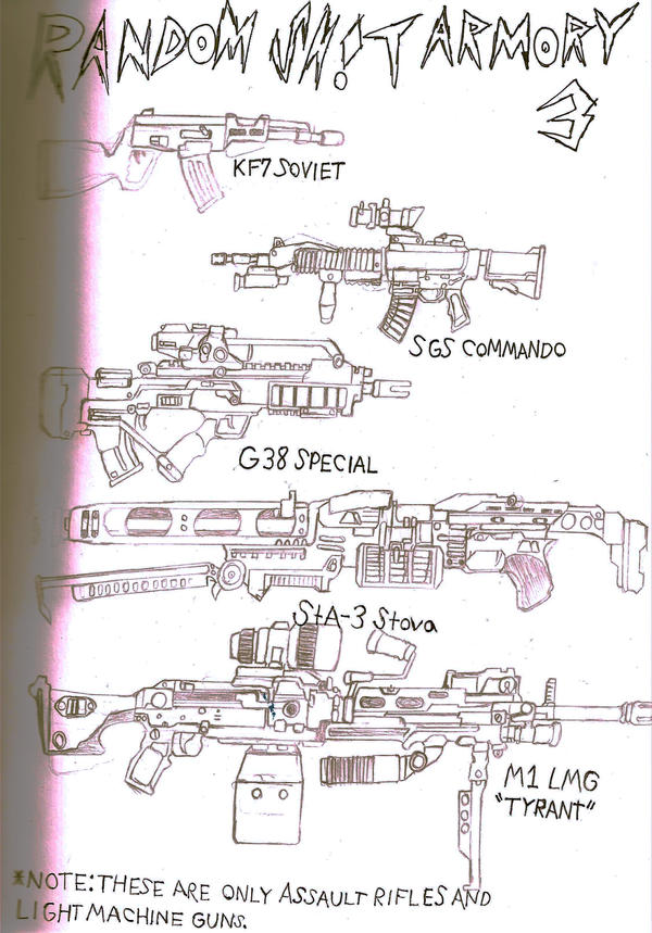 RS Armory-Assult Rifles by BigRalph