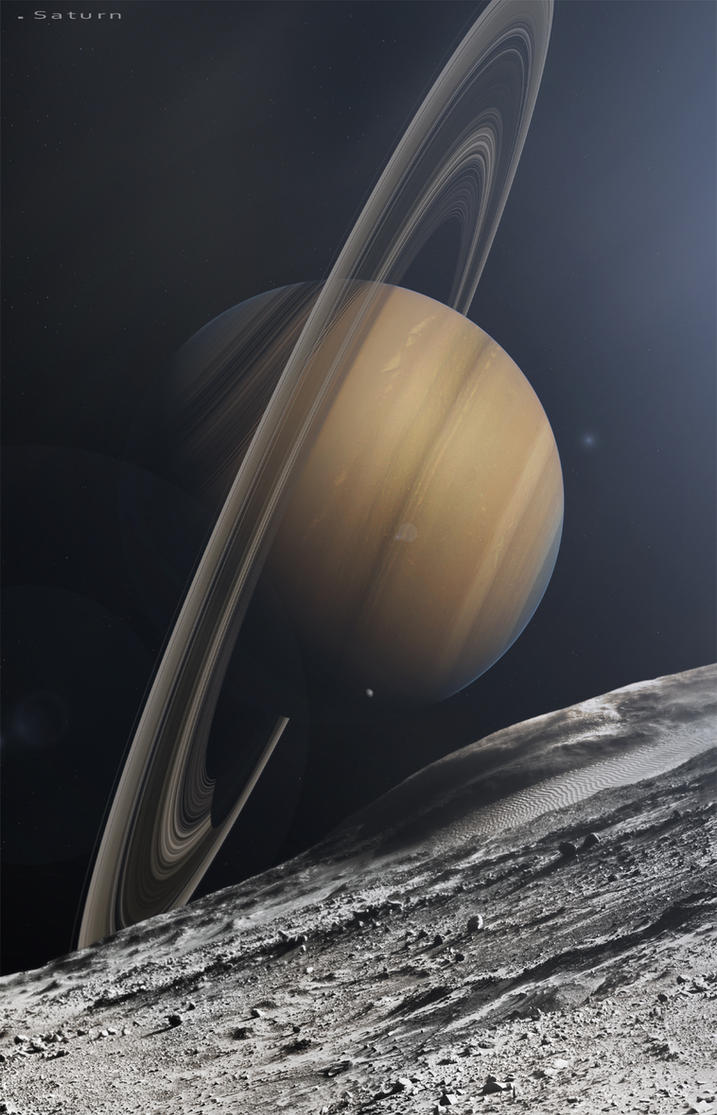 Saturn by Camille-Besneville