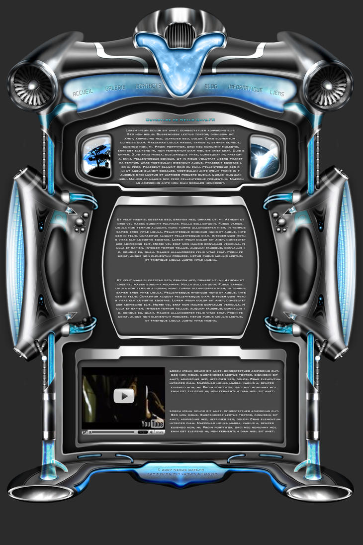 Nexus Gate Design by Camille-Besneville