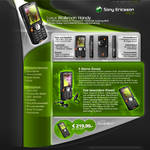 Sony Ericsson W810i Interface