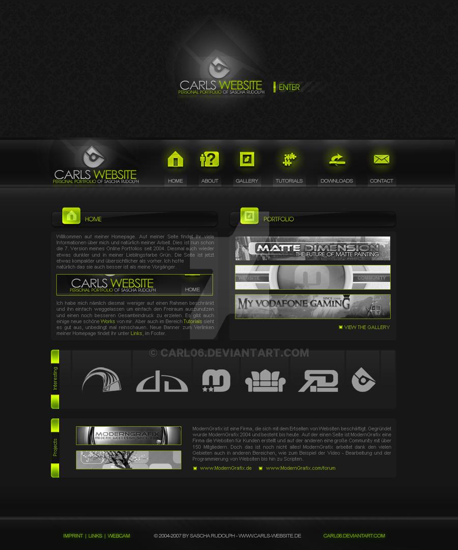 Carls-Website V.7 by Carl06