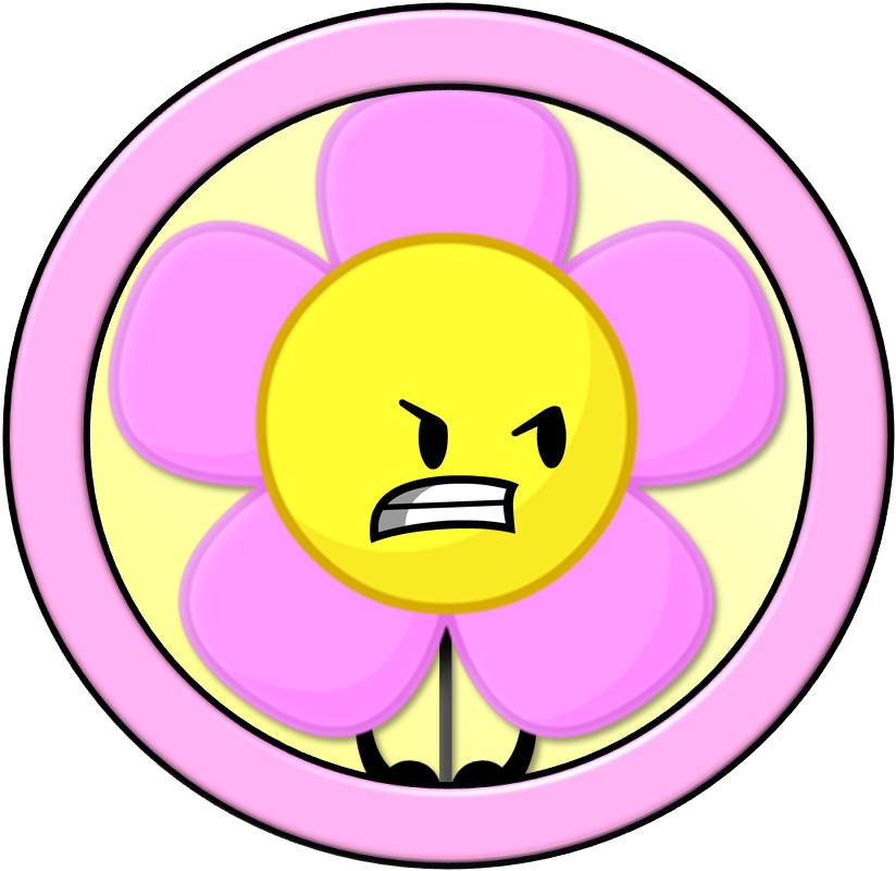 Battle For Dream Island #4: Flower By PlanetBucket22 On