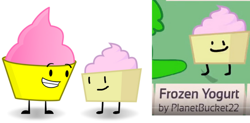 Frozen Yogurt Meets Her BFB Self
