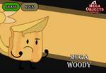 Mega Objects G7 #4: Mega Woody