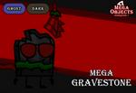 Mega Objects G7 #6: Mega Gravestone by PlanetBucket22