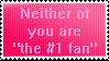 I AM ZE NUMBA 1 FANZ 2 BADZ IF U THOUT U WERE!!11! by Sweetie-Pinkie