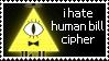 anti humanized bill cipher by Sweetie-Pinkie
