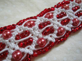 Red Passion Choker by ChaosFay