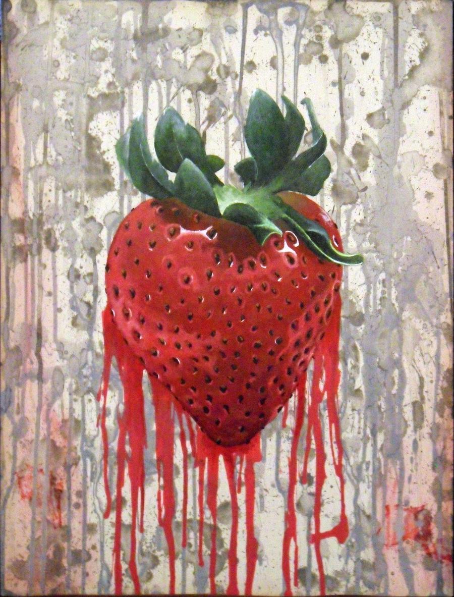 Bleeding Strawberry