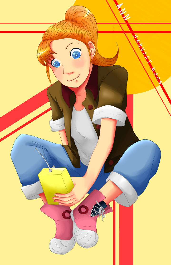 Ann - Harvest Moon Magical Melody by Weepinbelly on DeviantArt