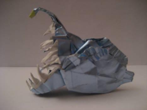 Origami Anglerfish