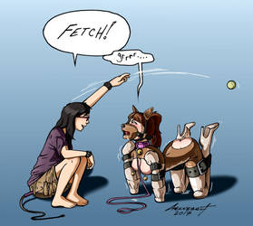 Pet Play by Geknebelt