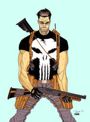 Punisher by Redcavalier