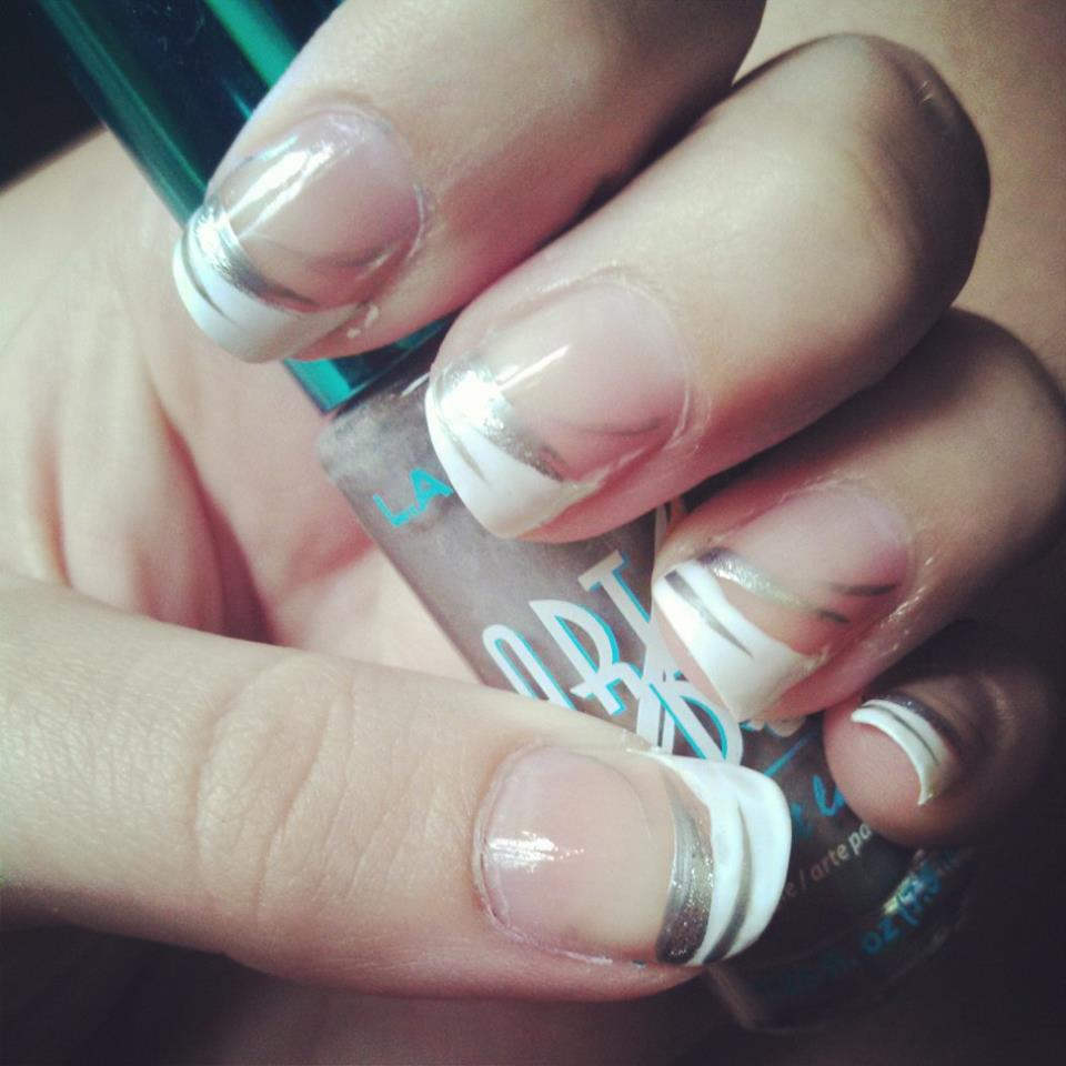 French Tip Nails by Mahvel on DeviantArt