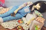 Sleeping Calina by musumedesu