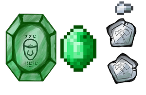 Currency! Emerald and Iron Nuggies!!!