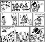 Left 4 Dead Comic 3 page 1