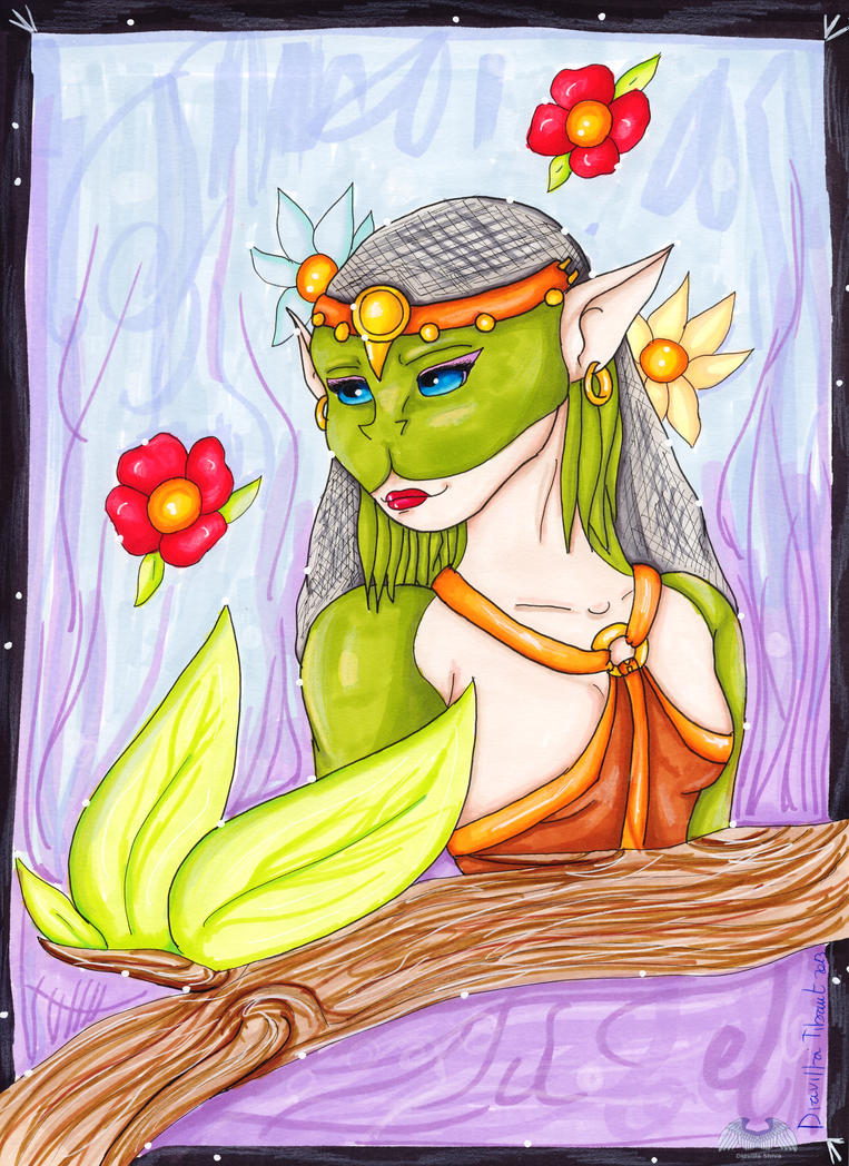 Politea the visionary by Shiva-Diavilla