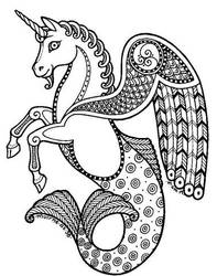 Celtic All Terrain Unicorn by MerryFool