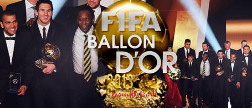 FIFA Ballon d'or 2013 by knaveofthehearts