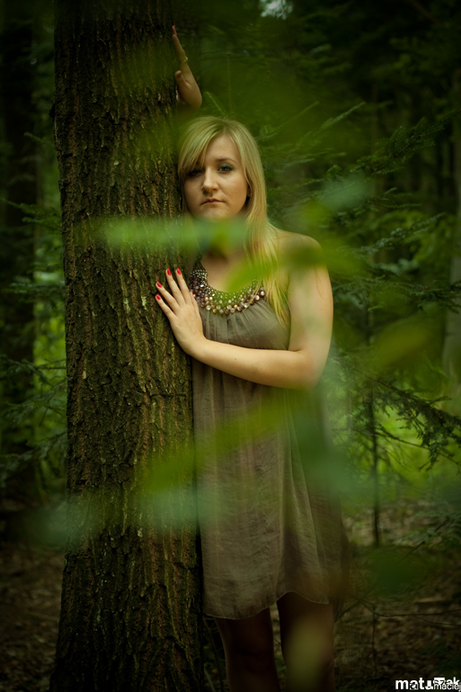 alone in the woods by mastadeath