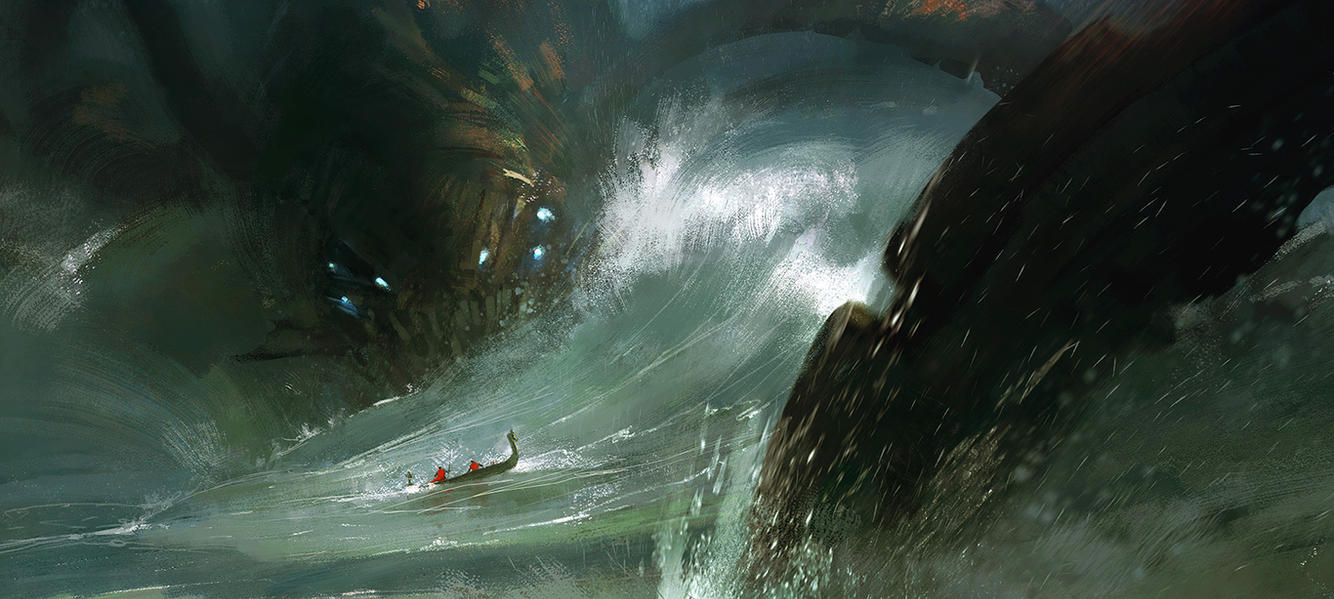 Sea monster No 1 by tiger1313Giant Sea Monster Wallpaper