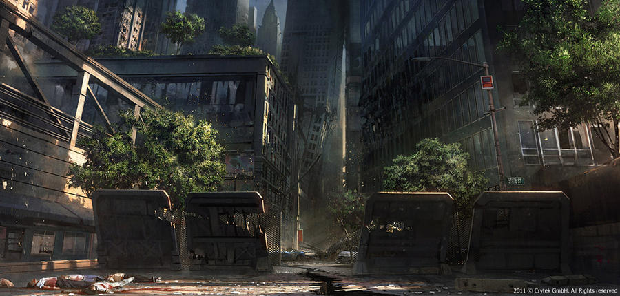 Crysis 2 - Battery Park by tiger1313