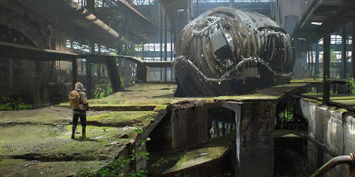 Abandoned Environment Concept tutorial