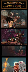 A Teemo Comic camouflaged as a League Comic by thanekats