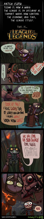 THE END OF EVERYTHING LEAGUE OF LEGENDS-The Comic