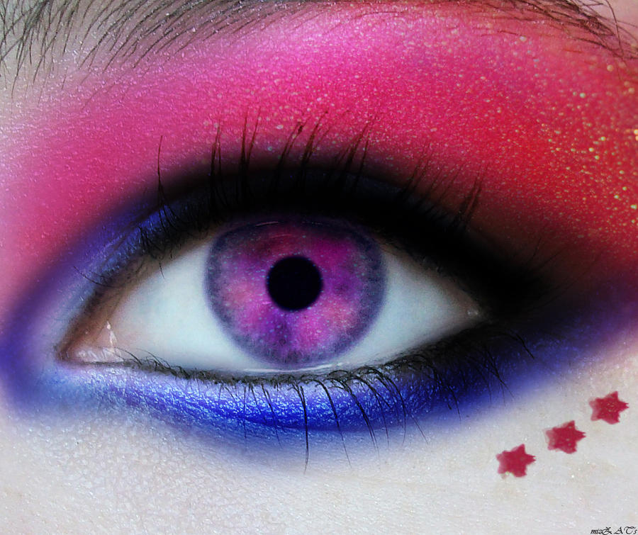 digital eye makeup by mizZ-AT