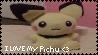 Pichu Stamp by migi64