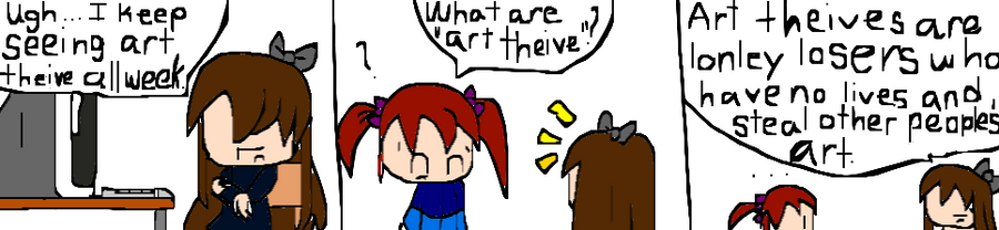 What art theives are by migi64