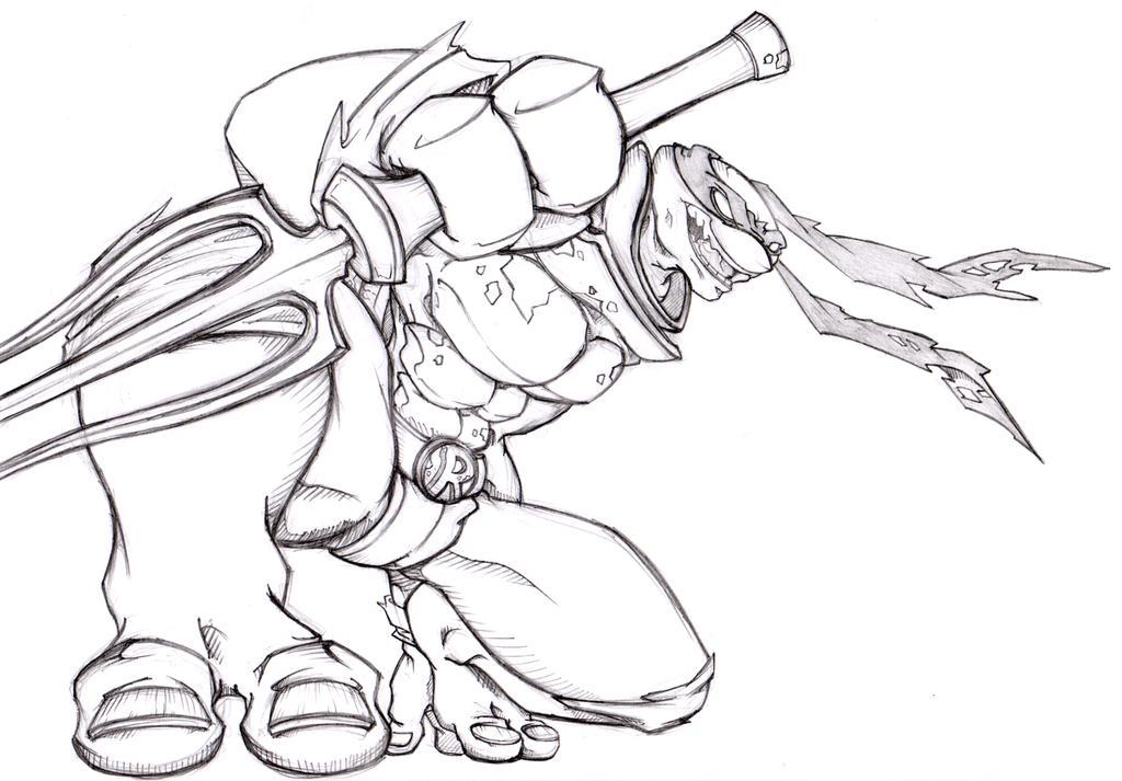 Line Art Ninja Turtles : Tmnt raphael by gangc on deviantart