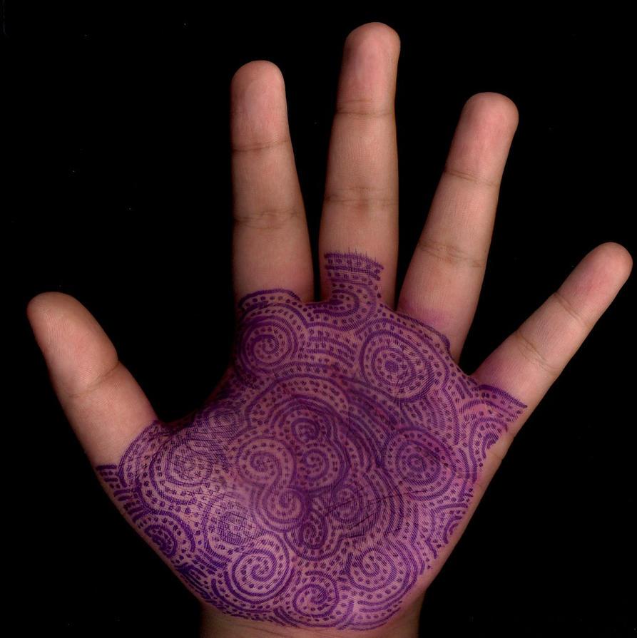Sharpie Henna