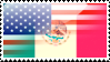 Mexican American Stamp by Illzie