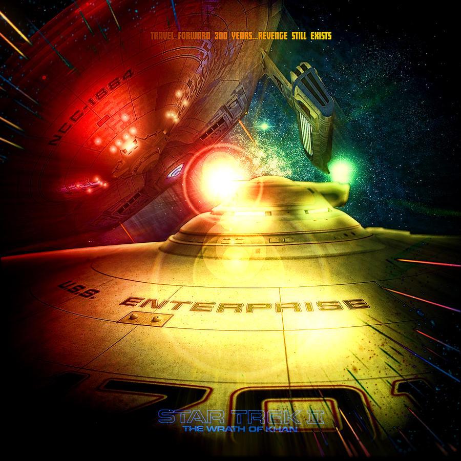 STAR TREK 2 :THE WRATH OF KHAN by R-Clifford