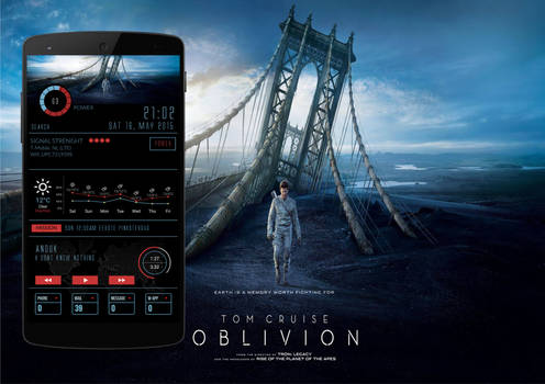 Oblivion Movie android theme