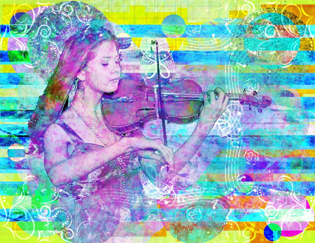 Violinst by ghostshado13