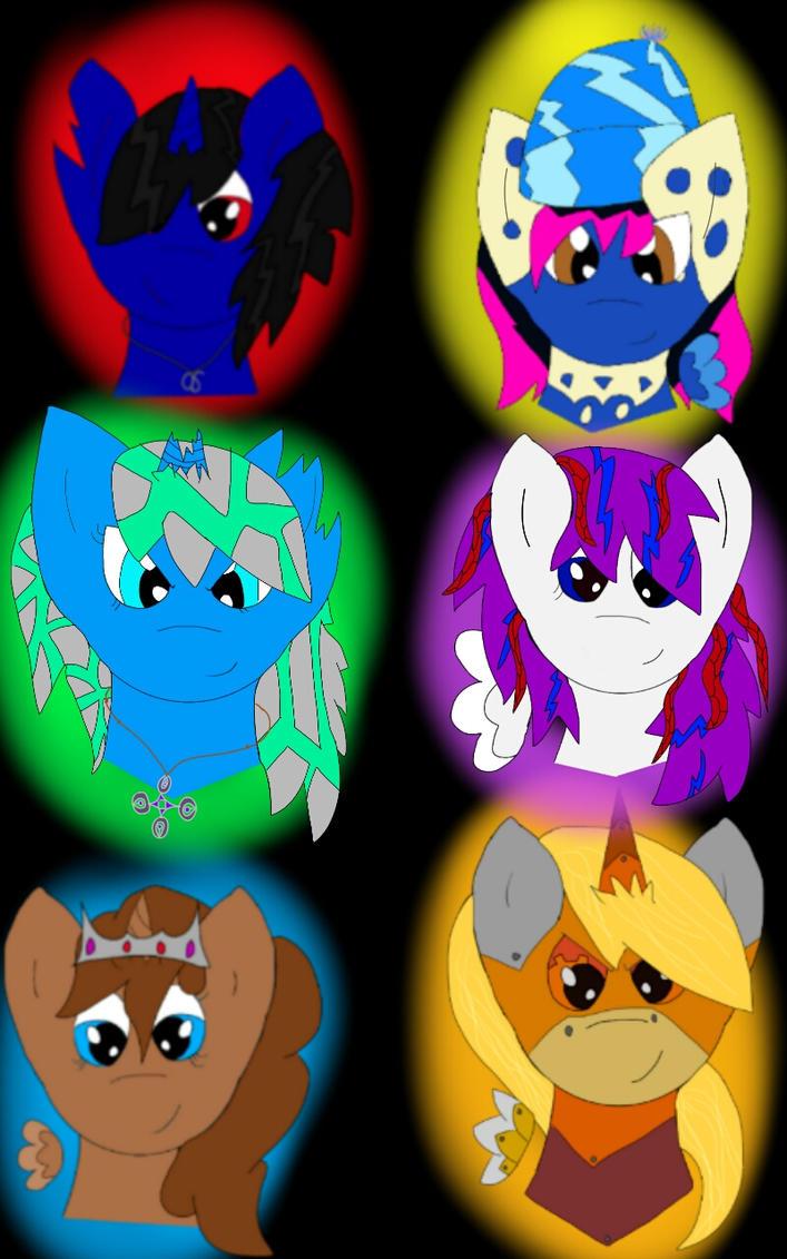 My Brony gang by ghostshado13