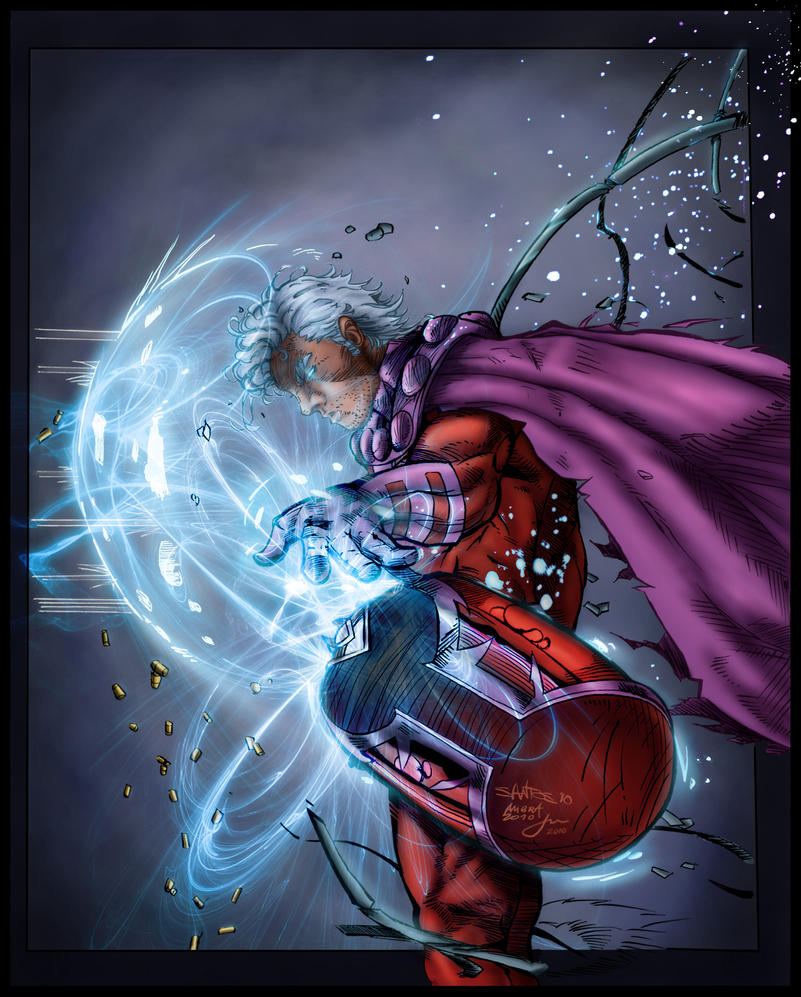 magneto color battle by penichet on deviantart